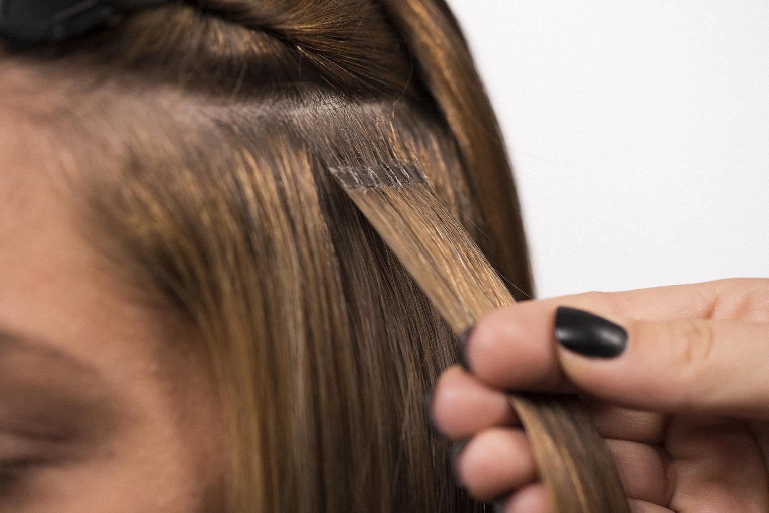 Cheveux tres fins extensions